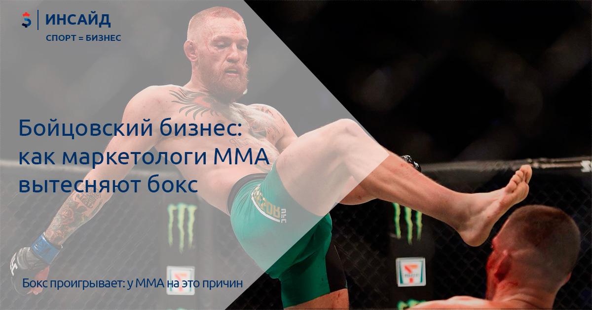 6a99c2e5b8f9 Бойцовский бизнес  как маркетологи ММА вытесняют бокс