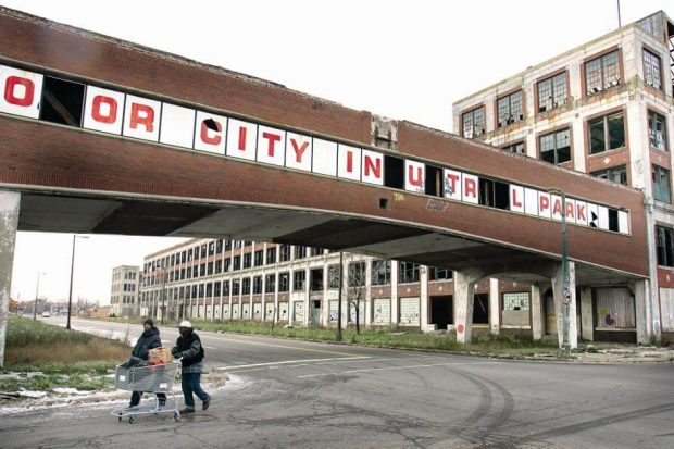 социализм в Детройте - причина кризиса