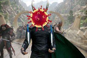 коронавирус разрушает мир