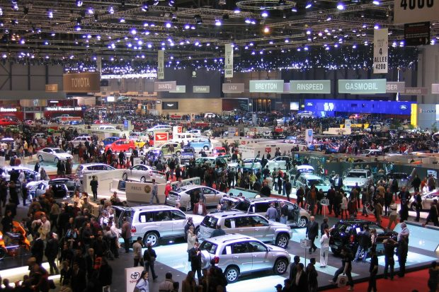 Женевский автосалон отмена