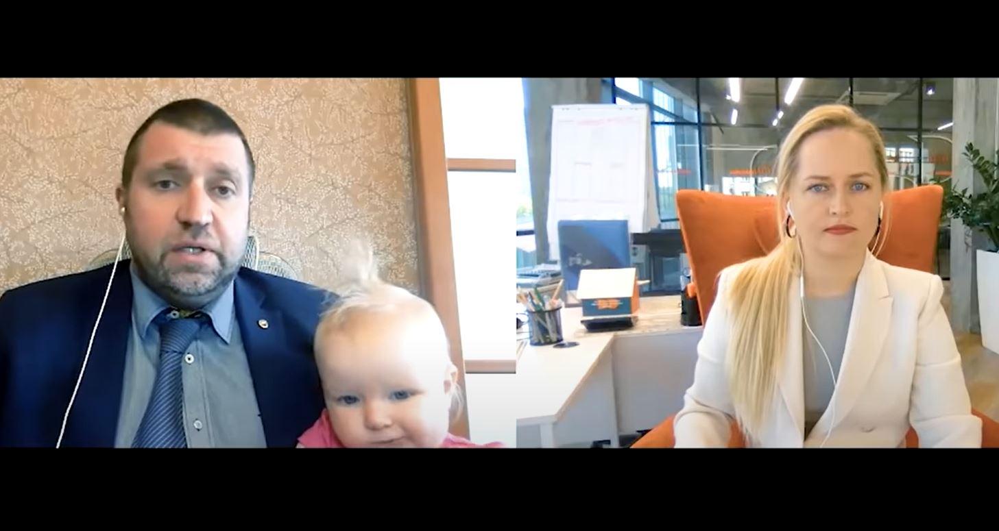 Дмитрий Потапенко и Яна Матвийчук обсуждают новости зе команды